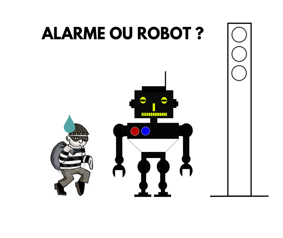 Alarme intrusion ROBOT