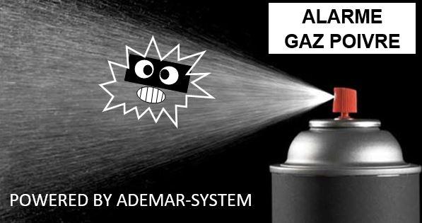 alarme gaz lacrymogene